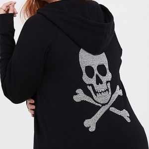 Torrid Skull Hoodie. New without tags.